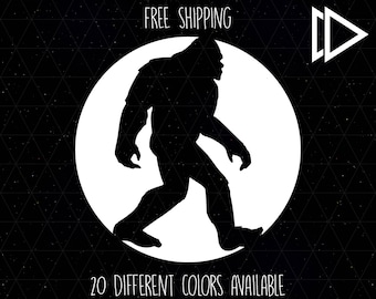 Sasquatch Bigfoot Decal
