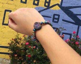 The Ultimate Rainbow Rock Bracelet