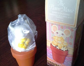Vintage Avon The Flower Mouse Zany Colonge