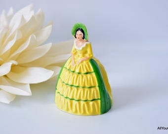 Crinoline Lady Napkin Ring, Carltonware Napkin Ring, Collectible Crinoline Lady, Vintage Tableware, Rare Art Deco Tableware, c 1930 s