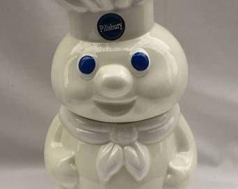 CANADA 150 SALE Mint condition - Vintage 1988 Pilsbury Dough Boy cookie jar. Pillsbury. Pillsbury Dough Boy. Vintage cookie jar. Kitchen dec