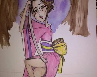 Art of War, Woman Samurai