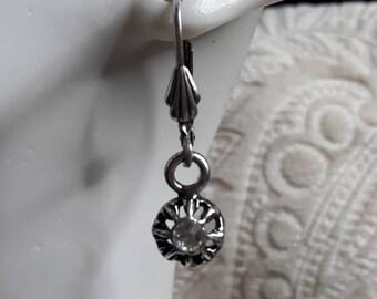 Arlésienne Crystal Silver earrings