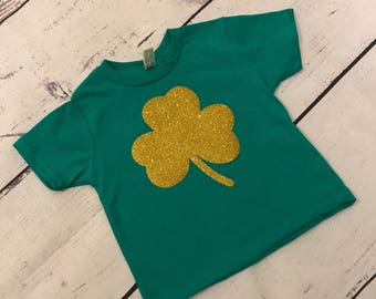 Toddler/ Youth Shamrock St.Patricks Day T shirt