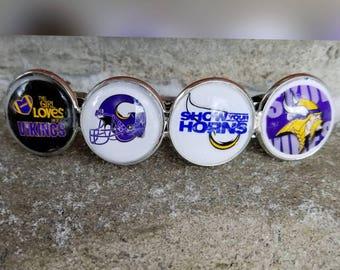 Minnesota Vikings LG hair clip