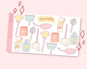 Chores-001 | Planner Stickers
