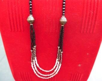 Elegant long necklace boho chic