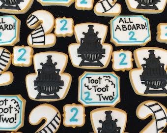 2 doz. Train Cookies