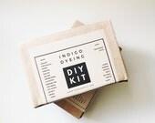 Indigo Dye kit, Shibori Dyeing Kit, DIY kit, Indigo Tie Dye kit, birthday party theme, Shibori Kit, craft party, Indigo workshop, DIY Gift