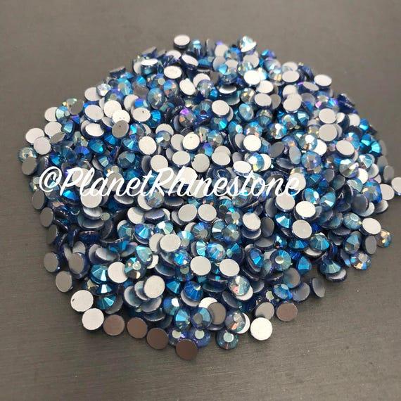 Light Sapphire AB / 10 Gross / SS20 / Flat back / Egyptian Crystals