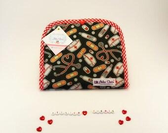 Pochette pharmacie (médicaments et pansements) sac à main