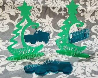 Christmas tree ornament holders