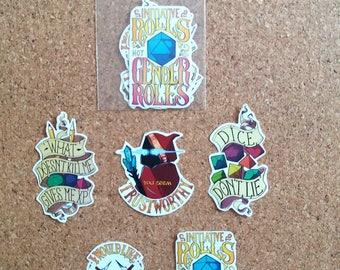 D&D stickers 2