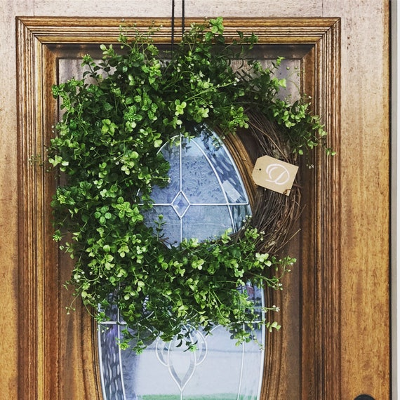 Simple Front Doors: Summer Wreaths For Front Door Simple Farmhouse Decor Chic