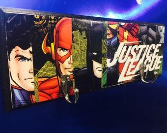 Justice league - justice league decor - super hero decor - kids room decor - kids room sign - superman - batman decor - boys room decor -