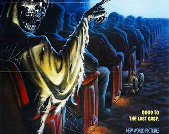 Back to School Sale: CREEPSHOW 2 Movie Poster Horror Stephen King