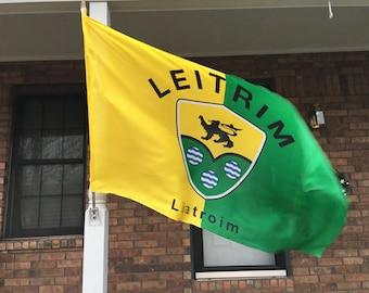 Irish Pride, County Leitrim Flag, 3 x 5
