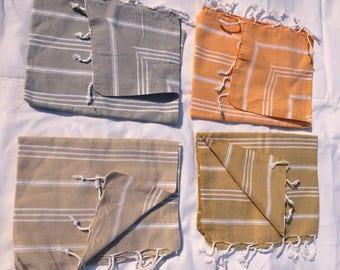 Basic quality classic Turkish hand towel
