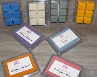 Handpoured soy wax melt block