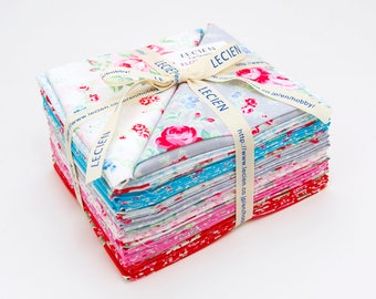 FREE SHIPPING Flower Sugar Paisley Wind Fat Quarter Bundle by Lecien Fabric LEC3050-05