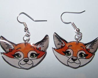 Red Fox earrings!