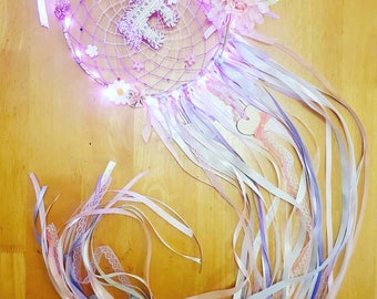 10 inch Light Up Dreamcatcher with plush centre