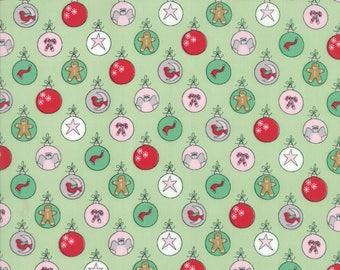 Moda SUGAR PLUM Quilt Fabric 1/2 Yard By Bunny Hill Designs - Gumdrop 2910 13