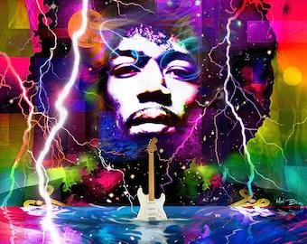 Moon, Turn The Tides... Gently, Gently Away - Jimi Hendrix