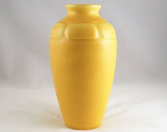 Rookwood 1925 Yellow Vase 1821