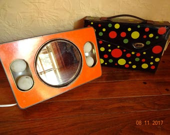 Mod Glow Make Up Mirror from the 60's