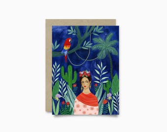 Greeting card - Frida