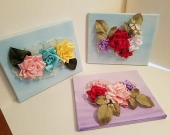 Handmade Silk Flower Arrangements