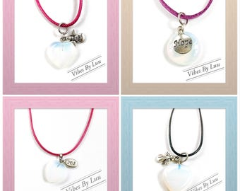 """Opalite  16mm Inspirational 19"""" Necklace"""