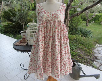 Reserved for Isabelle dress with daisies, nadir, mori, romantic