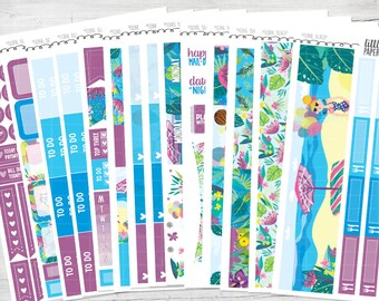 "DELUXE KIT | ""Floral Beach"" Glossy Kit 