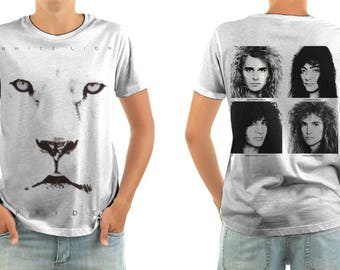 WHITE LION pride shirt all sizes
