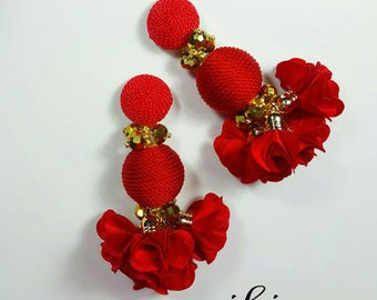 Poppy-Bon Maxi Earrings