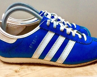 1970s ADIDAS REKORD MADE lN ROUMANlA Vintage Sneakers