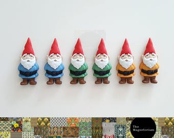 Gnome Fridge Magnet Set