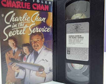Charlie Chan In the secret service VHS Tape