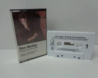 Don Henley Building the Perfect Beast Cassette