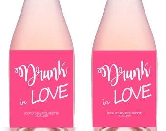 Bachelorette Wine Lables, Champagne Labels, Personalized Bachelorette Party Wine Labels, Bachelorette Party Favors, Last Fling Wine Labels