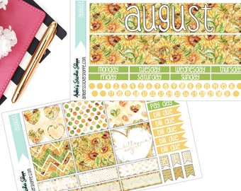 Hello August Sunflower Monthly Kit for ECLP
