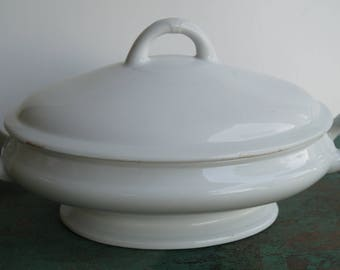 Powell and Bishop Ironstone Soup Tureen