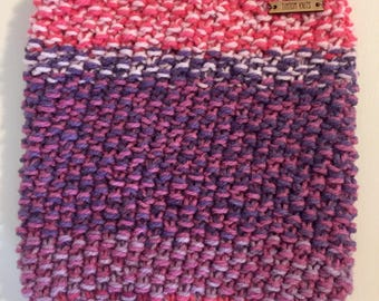 Seed Cowl - Cotton Candy