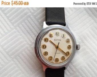 SALE Vostok soviet watch, mens watch, Wostok watch, rare watch, mechanical wathc 17jewels