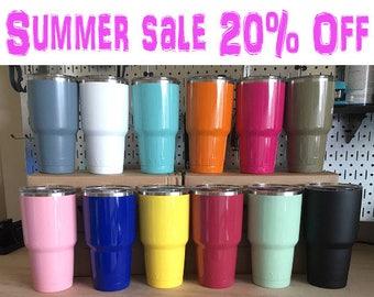 100% Authentic! YETI Rambler RTIC Powder Coated Ramblers- 10oz, 20oz & 30oz Gift For Her Girlfriend Gift