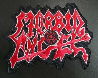 MORBID ANGEL American Band Logo Rock Heavy Death Metal Embroidered Badge Patch