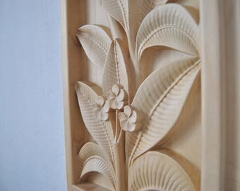 3D Wood Art Carving Wall Picture/Home wall decor