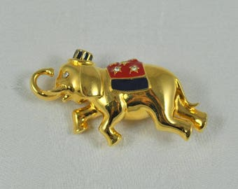 Monet political pin, Republican pin